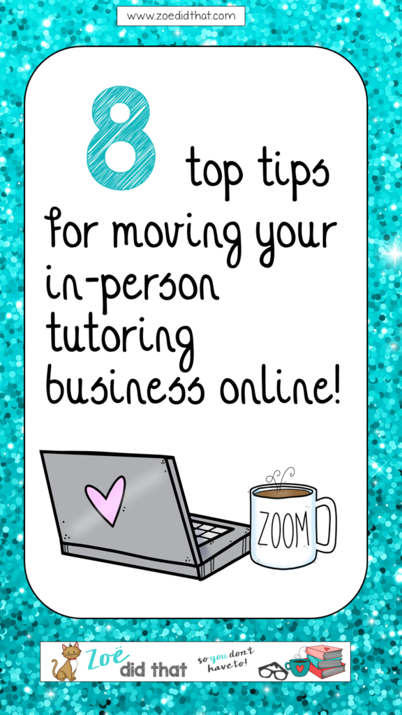 top tips for moving an in person tutoring business online